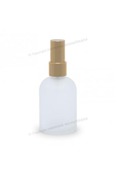 Vidro spray 60ml - Fosco/Dourada