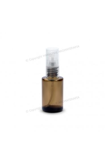 Vidro spray 10ml - Fumê Redondo com Tampa Transparente