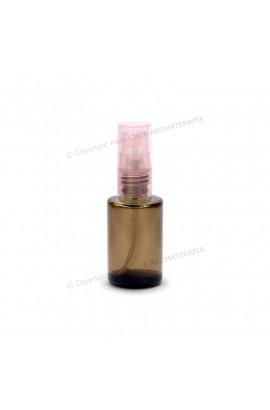 Vidro spray 10ml - Fumê Redondo com Valv. Rosa