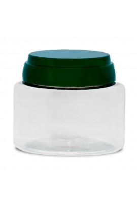 Pote Plástico Cristal 200gr