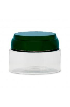 Pote Plástico Cristal 100gr